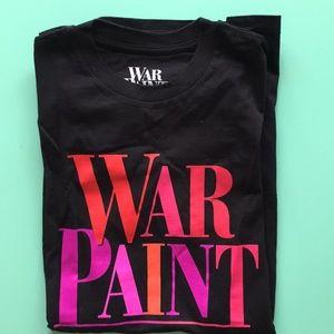 War Paint Broadway Musical  SS t-shirt Men's S New